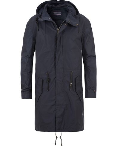 Tommy Hilfiger Br-Spencer Fish Tail Parka Peacoat Blue i gruppen Jackor / Rockar hos Care of Carl (13531911r)