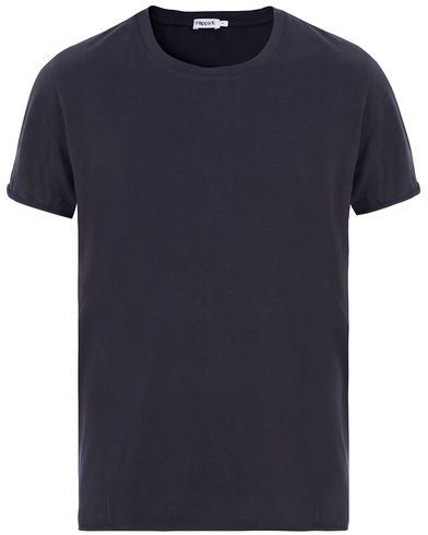 Filippa K Single Jersey Roll Edge Tee Navy i gruppen Kläder / T-Shirts hos Care of Carl (13533811r)