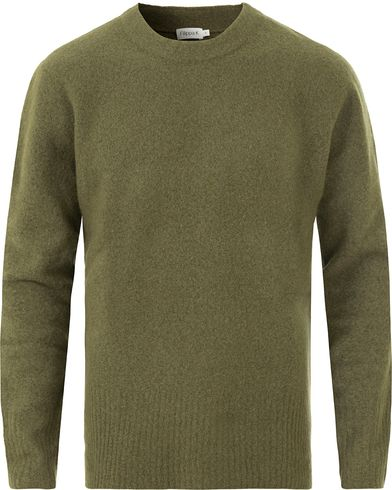 Filippa K Light Yak Knitted Sweater Airforce i gruppen Tröjor / Stickade tröjor hos Care of Carl (13534311r)