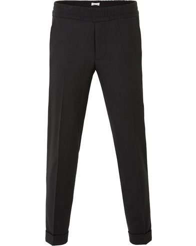 Filippa K Terry Gabardine Cropt Pants Black i gruppen Byxor / Kostymbyxor hos Care of Carl (13535511r)