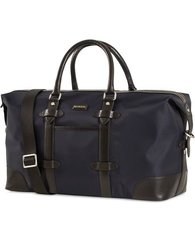Morris Nylon Weekendbag Navy/Black  i gruppen Assesoarer / Vesker / Weekendbager hos Care of Carl (13536210)
