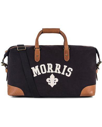 Morris Canvas Weekendbag Navy/Cognac  i gruppen Accessoarer hos Care of Carl (13536510)
