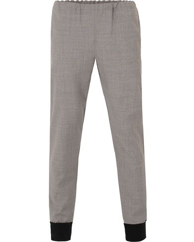 PS by Paul Smith Dress Track Pant Light Grey i gruppen Byxor / Kostymbyxor hos Care of Carl (13537811r)