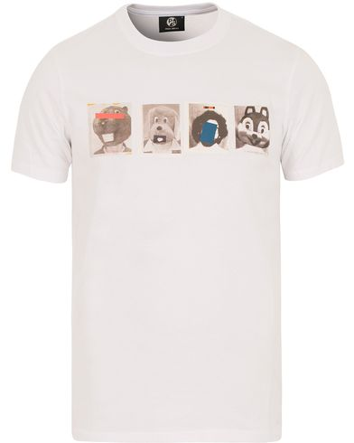 PS by Paul Smith Printed Photoshoot T-shirt White i gruppen T-Shirts / Kortärmade t-shirts hos Care of Carl (13539811r)