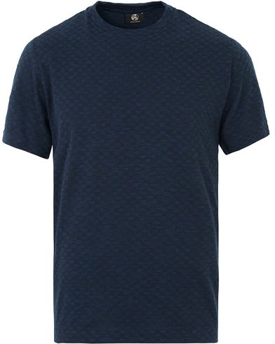 PS by Paul Smith Tonal Dot T-shirt Indigo i gruppen Kläder / T-Shirts / Kortärmade t-shirts hos Care of Carl (13540311r)