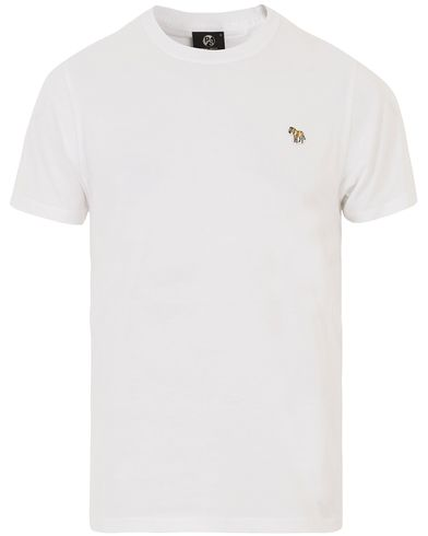 PS by Paul Smith Logo Tee White i gruppen Kläder / T-Shirts / Kortärmade t-shirts hos Care of Carl (13540411r)