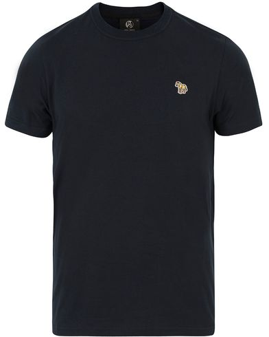 PS by Paul Smith Logo Tee Navy i gruppen T-Shirts / Kortärmade t-shirts hos Care of Carl (13540511r)
