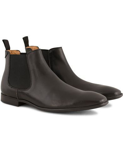 PS by Paul Smith Falconer Chelsea Boot Black Calf i gruppen Skor / Kängor / Chelsea boots hos Care of Carl (13541211r)