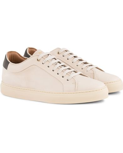 Paul Smith Basso Sneaker Off White Calf i gruppen Skor / Sneakers hos Care of Carl (13541311r)