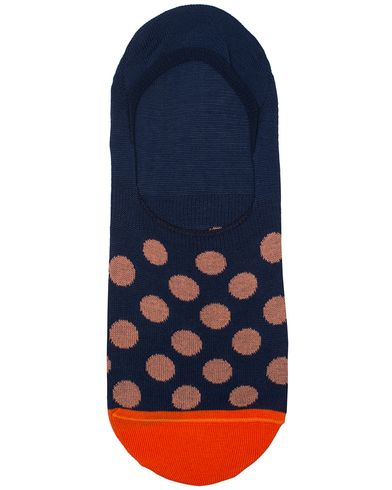 Paul Smith Bright Spot No Show Sock Navy  i gruppen Kläder / Underkläder / Strumpor / Ankelstrumpor hos Care of Carl (13541610)