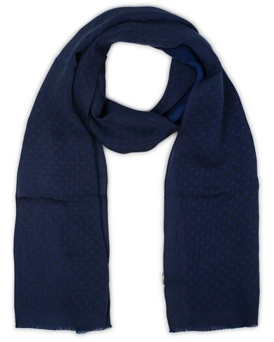 Paul Smith Mini Dot Scarf Navy  i gruppen Accessoarer / Scarves hos Care of Carl (13542410)