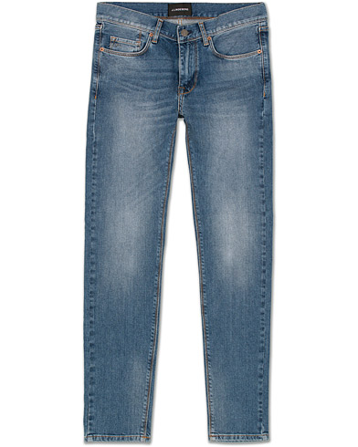 J.Lindeberg Damien Haggard Jeans Mid Blue i gruppen Jeans / Smala jeans hos Care of Carl (13546311r)