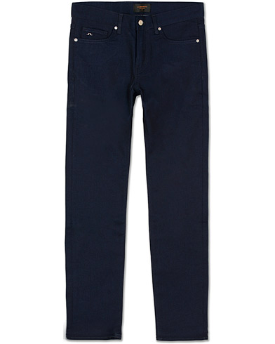 J.Lindeberg Jay Sattled Jeans Dark Blue i gruppen Jeans / Smala jeans hos Care of Carl (13546711r)