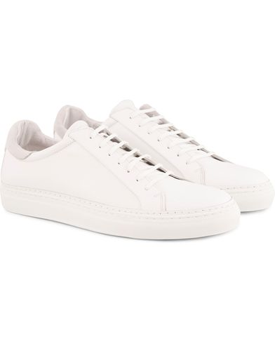 J.Lindeberg Lace Combo Leather Sneaker White i gruppen Design B / Skor / Sneakers / Låga sneakers hos Care of Carl (13549011r)