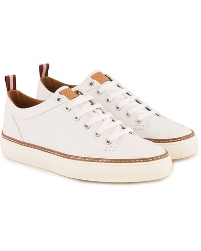 Bally Hernando Sneaker White Calf i gruppen Skor / Sneakers / Låga sneakers hos Care of Carl (13550411r)