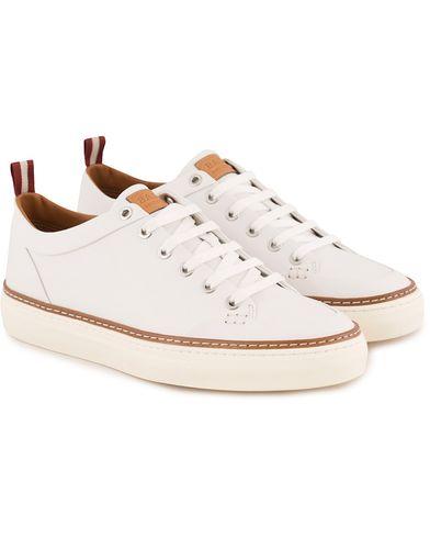 Bally Hernando Sneaker White Calf i gruppen Skor / Sneakers hos Care of Carl (13550411r)
