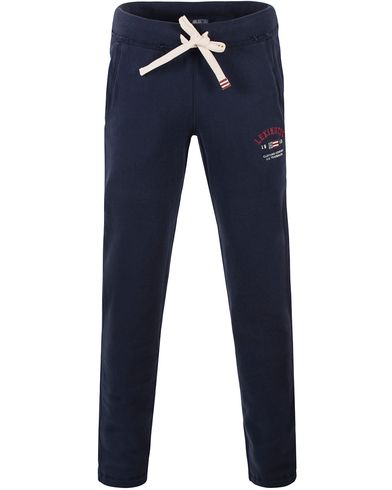 Lexington Brandon Sweatpants Deepest Blue i gruppen Kläder / Byxor / Mjukisbyxor hos Care of Carl (13552011r)