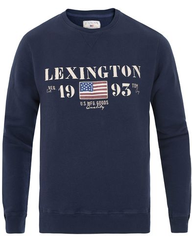 Lexington Lucas Sweatshirt Deepest Blue i gruppen Design A / Tröjor / Sweatshirts hos Care of Carl (13552511r)