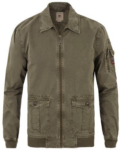 Lexington Layton Pilot Jacket Olive Night i gruppen Kläder / Jackor / Tunna jackor hos Care of Carl (13553111r)