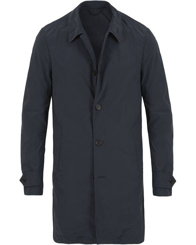 Aspesi Lemon Garment Dyed Coat Navy i gruppen Jackor / Rockar hos Care of Carl (13568511r)