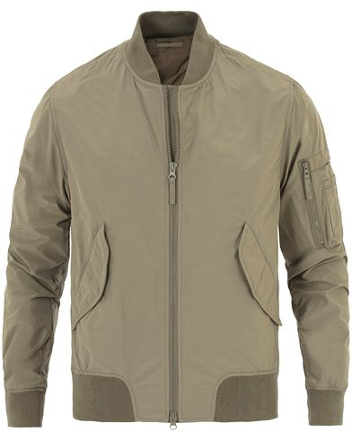 Aspesi Bomber Summer Jacket Grey i gruppen Jackor / Bomberjackor hos Care of Carl (13568711r)