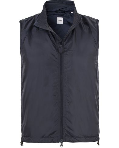 Aspesi Vernes Vest Medium Blue i gruppen Jackor / Yttervästar hos Care of Carl (13569011r)