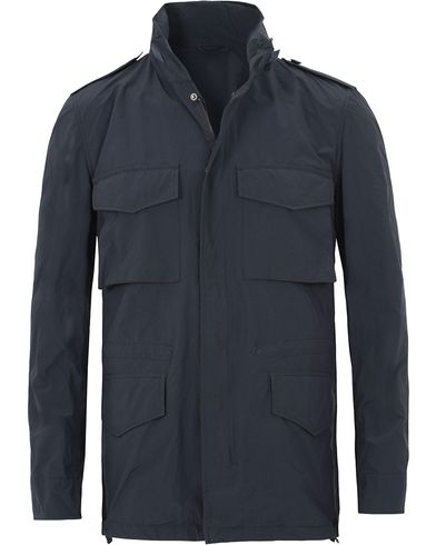 Aspesi Field 65-Replica Jacket Deep Blue i gruppen Kläder / Jackor / Fieldjackor hos Care of Carl (13569211r)