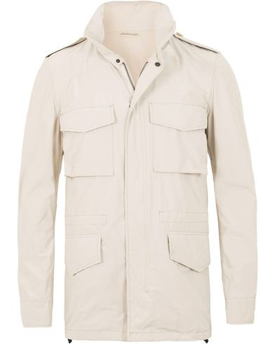 Aspesi Field 65-Replica Jacket White i gruppen Jackor / Tunna jackor hos Care of Carl (13569411r)