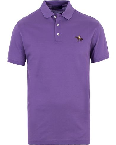 Ralph Lauren Purple Label Mercerized Cotton Pique Classic Lavender i gruppen Polotrøjer / Kortærmede polotrøjer hos Care of Carl (13570311r)