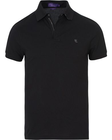 Ralph Lauren Purple Label Active Pique Polo Black i gruppen Polotrøjer / Kortærmede polotrøjer hos Care of Carl (13570611r)