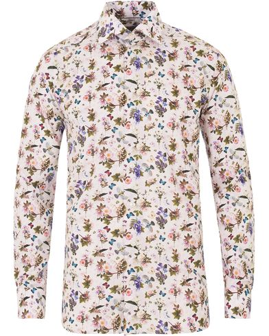 Eton Contemporary Signature Printed Flower Shirt White i gruppen Skjortor / Casual skjortor hos Care of Carl (13575811r)