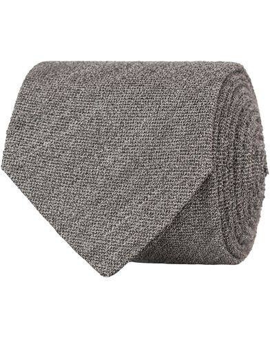 Eton Terry 8 cm Tie Grey  i gruppen Accessoarer / Slipsar hos Care of Carl (13576710)