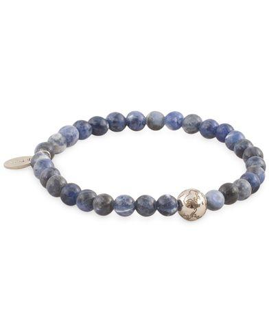 Eton Earth Semi Precious Stone Bracelet Blue i gruppen Accessoarer / Armband hos Care of Carl (13580211r)