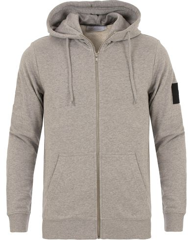 Peak Performance Zip Hoodie Grey i gruppen Kläder / Tröjor / Huvtröjor hos Care of Carl (13580811r)