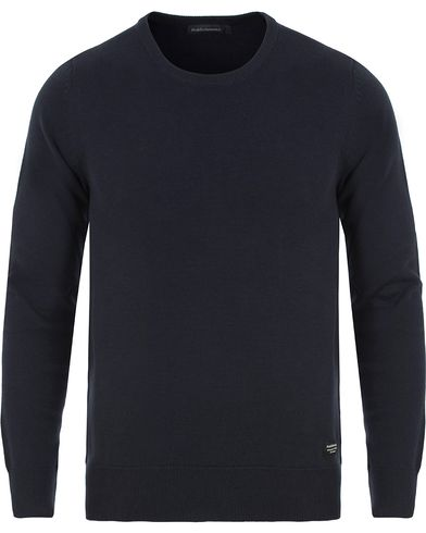 Peak Performance Brady Knitted Crew Neck Navy i gruppen Kläder / Tröjor / Stickade tröjor hos Care of Carl (13581911r)