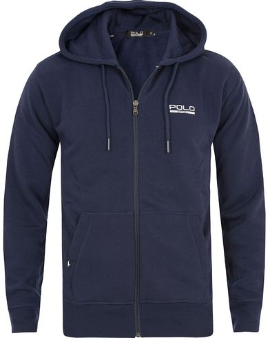 Polo Ralph Lauren Neon Fleece Hood French Navy i gruppen Kläder / Tröjor / Huvtröjor hos Care of Carl (13586311r)