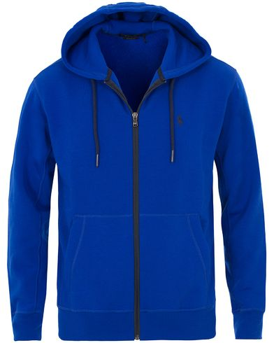 Polo Ralph Lauren Neon Fleece Hood Shoreline Royal i gruppen Kläder / Tröjor / Huvtröjor hos Care of Carl (13586411r)