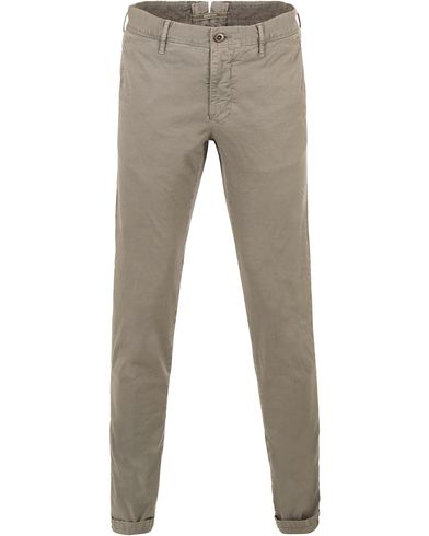 Incotex Slim Fit Stretch Slacks Grey i gruppen Kläder / Byxor / Chinos hos Care of Carl (13587611r)