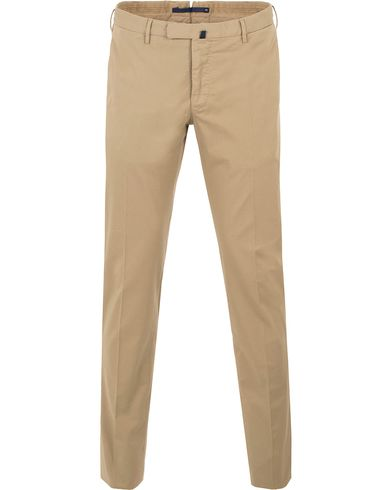 Incotex Slim Fit Stretch Chinos Khaki i gruppen Kläder / Byxor / Chinos hos Care of Carl (13588011r)