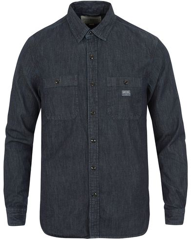 Denim & Supply Ralph Lauren Regular Fit Denim Shirt Blue i gruppen Kläder / Skjortor / Jeansskjortor hos Care of Carl (13589411r)