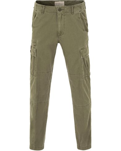 Denim & Supply Ralph Lauren Field Cargo Pants Olive Green i gruppen Byxor / Cargobyxor hos Care of Carl (13590911r)