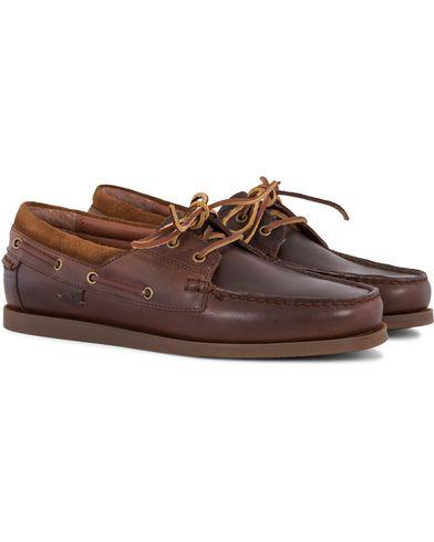 Polo Ralph Lauren Dayne Leather Deckshoes Light Tan i gruppen Skor / Seglarskor hos Care of Carl (13591511r)
