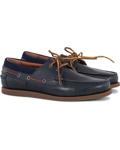 Polo Ralph Lauren Dayne Leather Deckshoes Newport Navy i gruppen Skor / Seglarskor hos Care of Carl (13591611r)