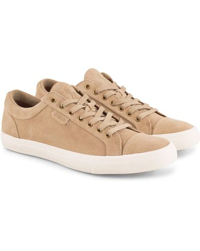 Polo Ralph Lauren Geffrey Suede Sneaker Tan i gruppen Skor / Sneakers hos Care of Carl (13592611r)