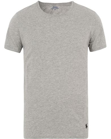 Polo Ralph Lauren Wide Crew Neck Tee Grey i gruppen Kläder / T-Shirts / Kortärmade t-shirts hos Care of Carl (13593411r)
