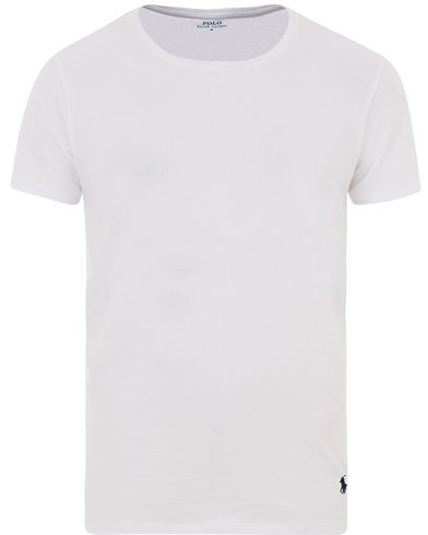 Polo Ralph Lauren Wide Crew Neck Tee White i gruppen T-Shirts / Kortärmade t-shirts hos Care of Carl (13593511r)