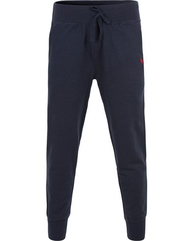 Polo Ralph Lauren Slim Fit Jogger Pants Navy i gruppen Kläder / Byxor / Mjukisbyxor hos Care of Carl (13593811r)