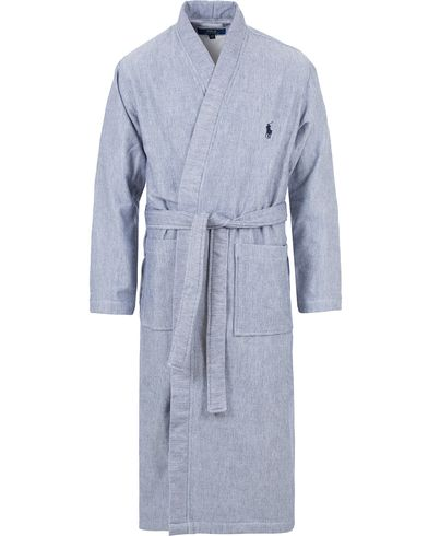 Polo Ralph Lauren Herringbone Robe Cruise Navy i gruppen Underkläder / Morgonrockar hos Care of Carl (13594211r)