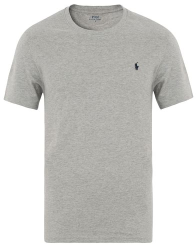 Polo Ralph Lauren Short Sleeve Crew Neck Grey i gruppen Kläder / T-Shirts / Kortärmade t-shirts hos Care of Carl (13594411r)