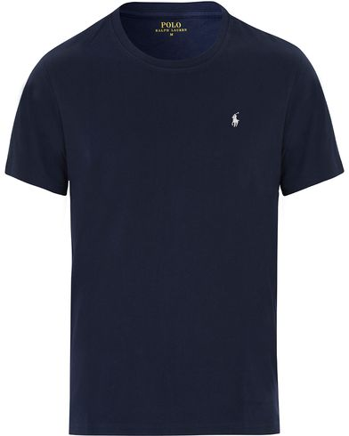 Polo Ralph Lauren Short Sleeve Crew Neck Navy i gruppen T-Shirts / Kortärmade t-shirts hos Care of Carl (13594511r)